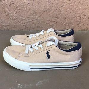 Boys Ralph Lauren Polo Shoes size 10C